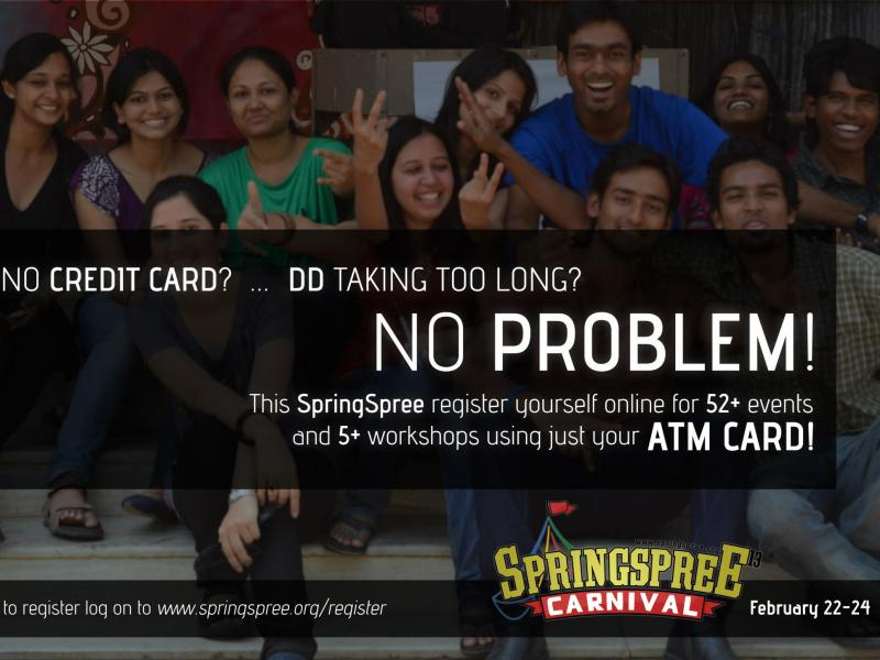 SpringSpree'13 - Cultural Fest at NIT Warangal from February 22-24, 2013