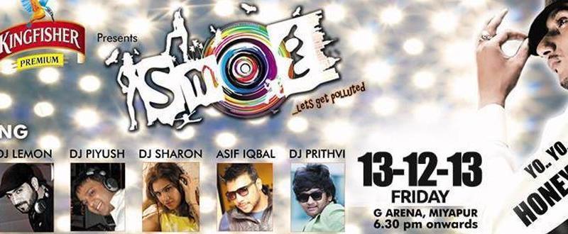 SMOG 2013 - Biggest Open Air Show in Hyderabad on December 13, 2013