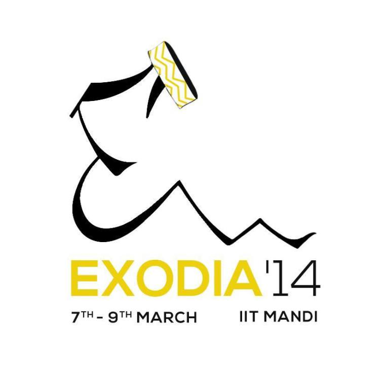 Exodia '14 - Techno-Cultural Fest in IIT Mandi from March 7-9, 2014