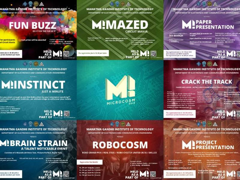 Microcosm 2014 - ECE Fest in Hyderabad from March 13-14, 2014
