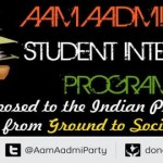 Intern at Aam Aadmi Party from March 8, 2014