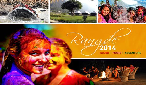 RANG DE - Color | Music | Adventure in Uttarakhand on March 15, 2014