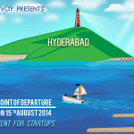 Point of Departure – A Key Event for Startups in Hyderabad on August 15, 2014