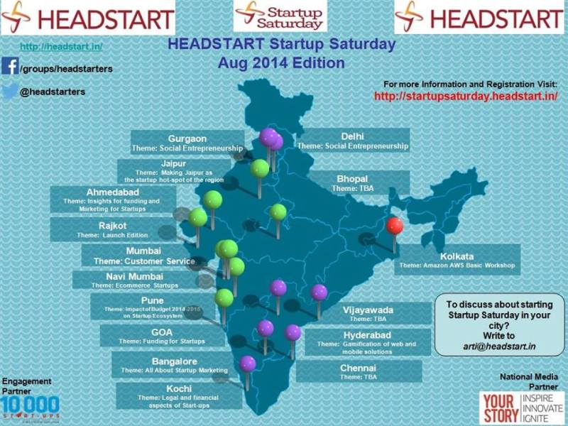 Startup Saturday August 2014 Edition on August 9, 2014
