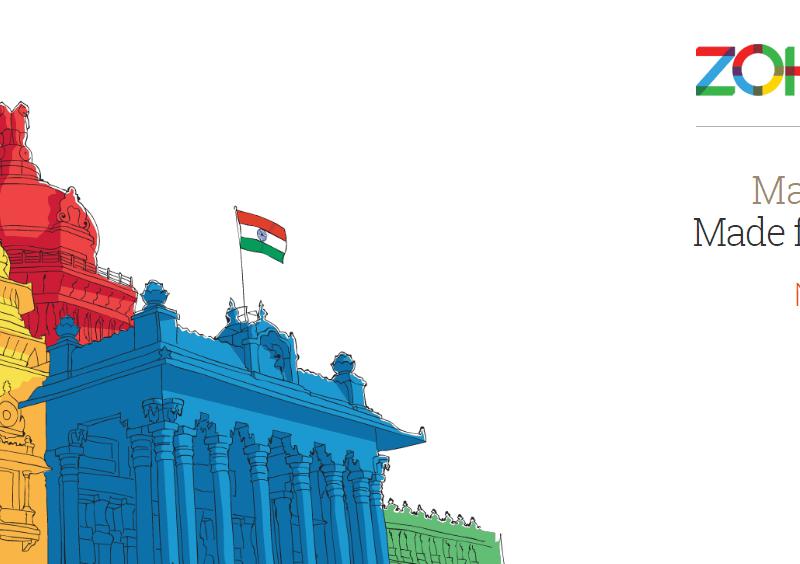Zoholics India 2014 by Zoho in Bengaluru from November 20-21, 2014