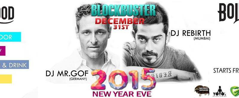 The Biggest New Year Eve Blockbuster Holly and Bollywood in Bangalore on December 31, 2014
