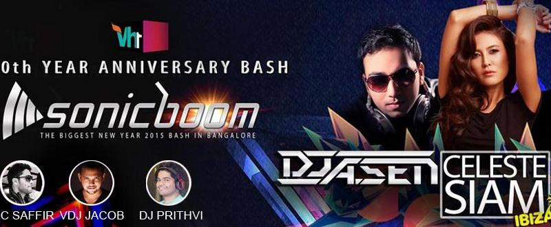 SonicBoom 2015 - VH1 Anniversary Bash in Bangalore on December 31, 2014