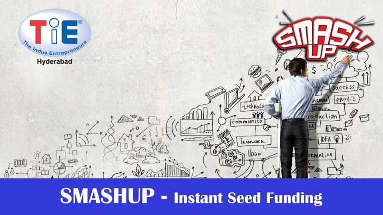 TiE Smashup - Instant Funding Event in Hyderabad on August 8, 2015