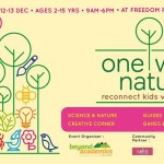 One with Nature – Festival with Kids and Parents in Bangalore on December 12-13, 2015