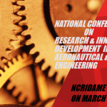 National Conference on Research and Innovative Development in Housur from March 11-13, 2016