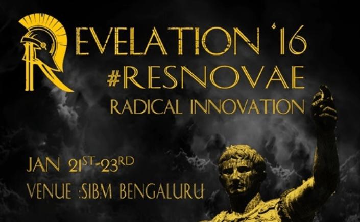 Revelation 2016 - Management Fest in Bengaluru from January 21-23, 2016