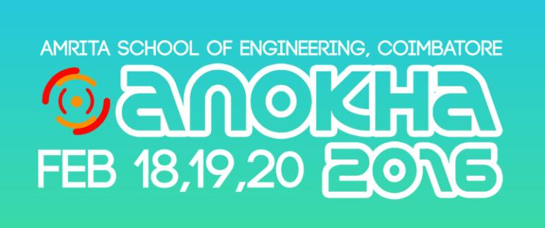 Anokha 2016 - Tech Fest in Tamil Nadu from February 18-20, 2016