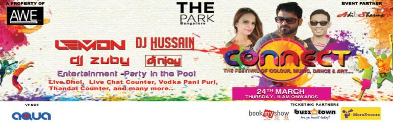 CONNECT - The Biggest HOLI Pool Party Season 3 in Bengaluru on March 24, 2016