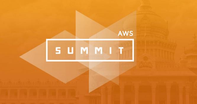 AWS Summit Bangalore 2016 on June 30, 2016