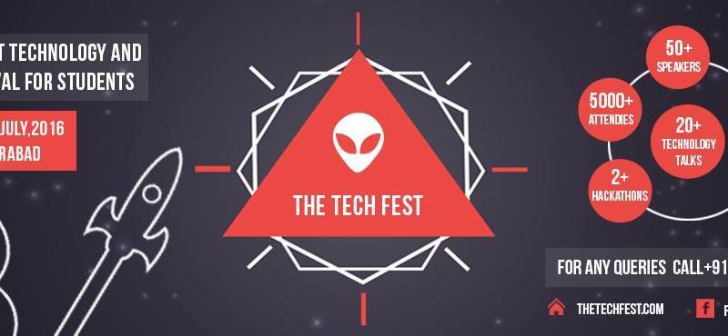 The Tech Fest 2016 in JNTU Hyderabad from July 30-31, 2016