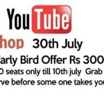 Youtube Workshop in Hyderabad on July 30, 2016