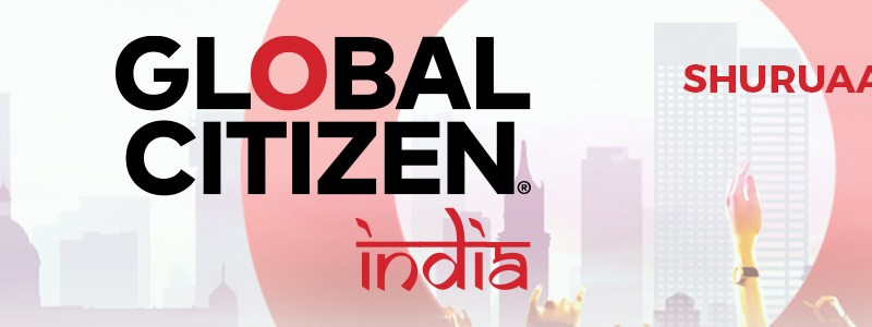 Global Citizen Festival Presents Cold Play in India on November 19, 2016