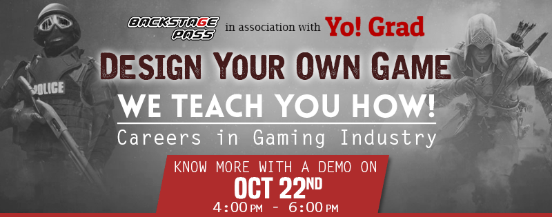 Free Workshop On Careers In The Gaming Industry in Hyderabad on October 22, 2016