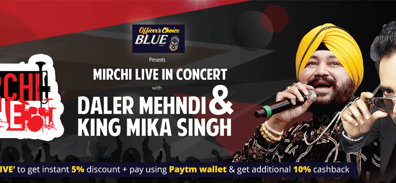 Mirchi Live in Concert With Daler Mehndi and King Mika Singh in Haryana on November 19, 2016