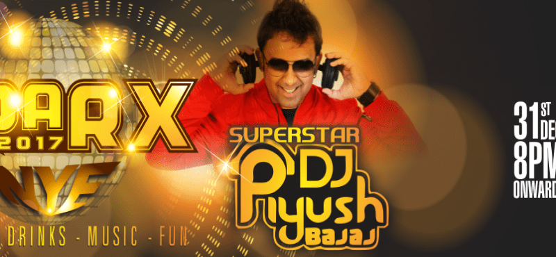 SPARX NYE 17 with DJ Piyush at N-Convention, Hyderabad on December 31, 2016
