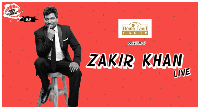 Just Comedy presents Zakir Khan Live in Chandigarh on February 10, 2017