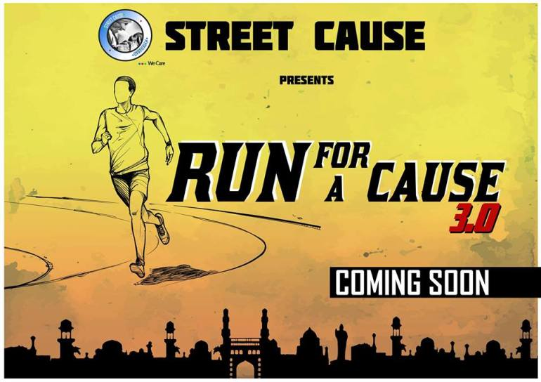 Street Cause Run For A Cause 3.0 in Hyderabad on March 26, 2017