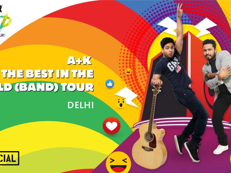 Breezer Vivid A+K The Best in the World (Band) Tour in Delhi on May 12, 2017