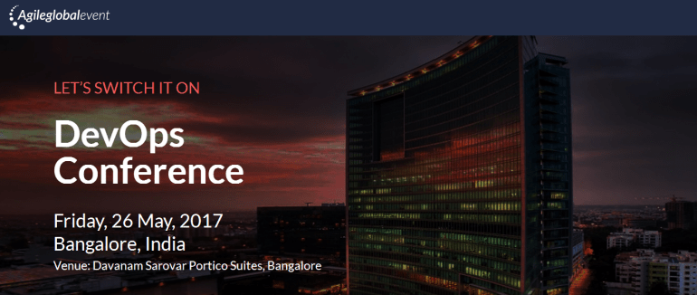 DevOps Conference in Bangalore on May 26, 2017