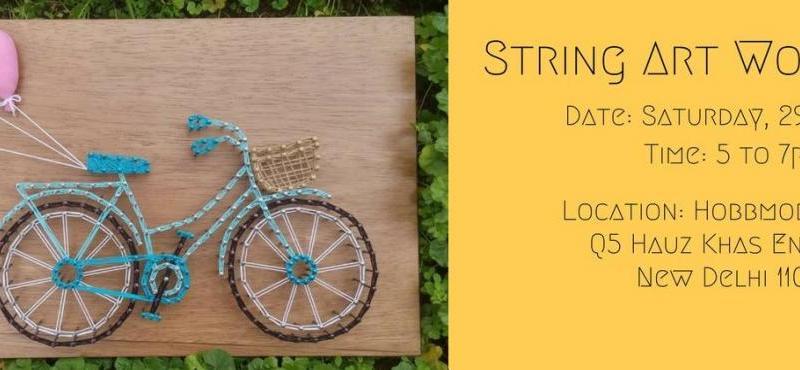 String Art Workshop in New Delhi on July 29, 2017