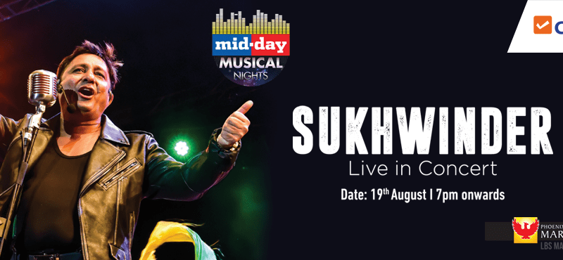 Sukhwinder Live In Concert in Mumbai on August 19-20, 2017