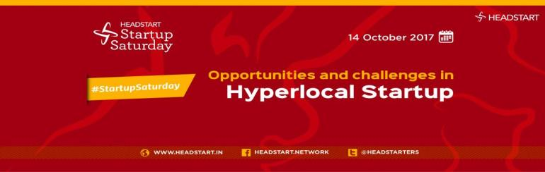 Startup Saturday Hyderabad October Edition on October 14, 2017