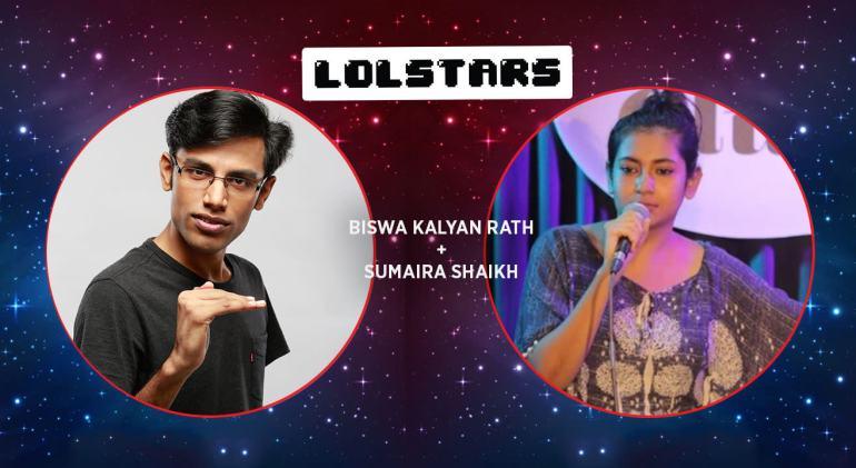 LOLStars Biswa Kalyan Rath & Sumaira Shaikh in Chennai on November 26, 2017