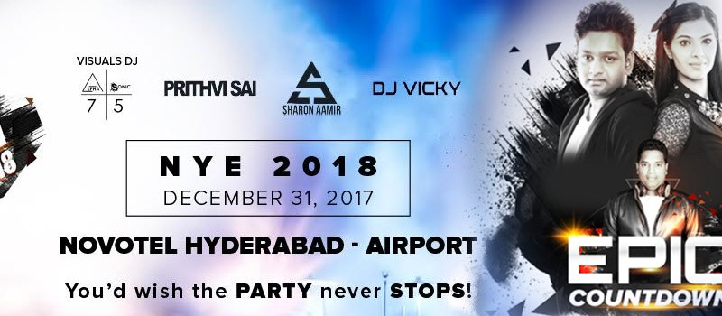New Year's Eve Party 2018 F-UNLtd in Hyderabad on December 31, 2017