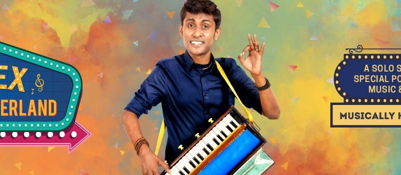 Alex in Wonderland - A Solo Stand-up Special in Hyderabad