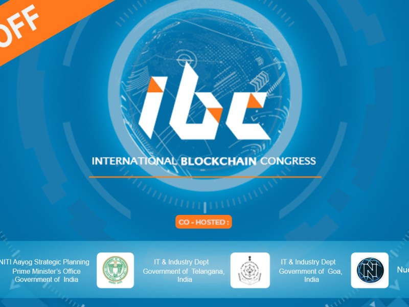 International Blockchain Congress in Hyderabad