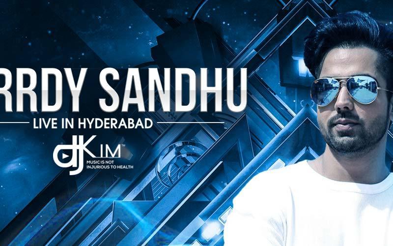 Hardy Sandhu Live in Hyderabad
