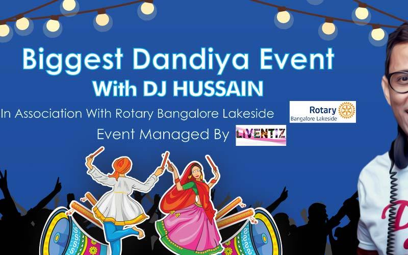 The Biggest Dandiya Night With DJ Hussain