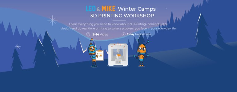 3D Printing Workshop for Ages 9-14 in Hyderabad