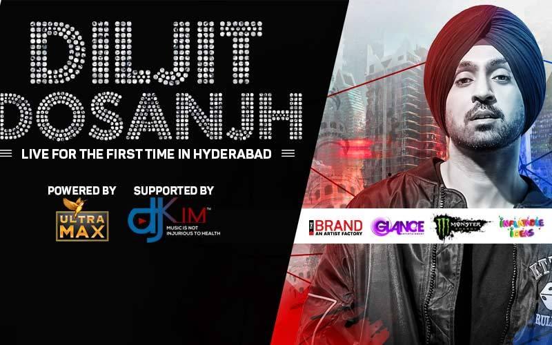 Diljit Dosanjh Live In Hyderabad