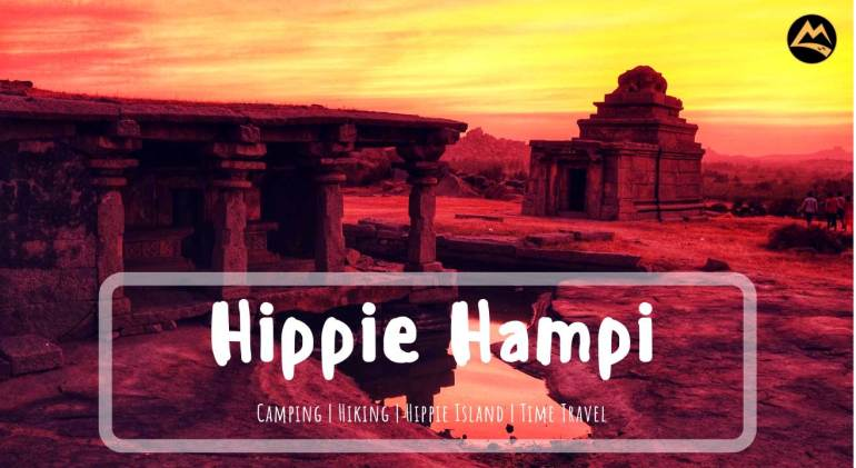The Hippie Island of Hampi - New Year Camping