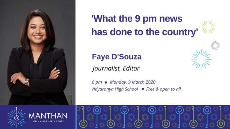 Manthan with Faye D'Souza