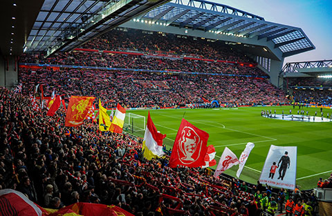 Liverpool on the Forbes Soccer Team Valuations List