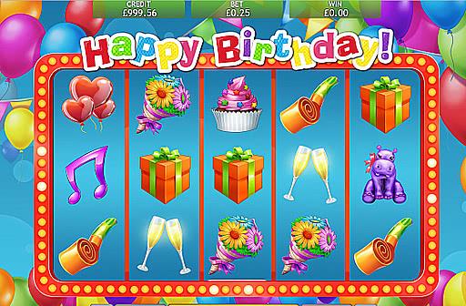 Happy Birthday Slot Machine Play Online Free Slots By Eyecon