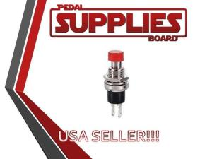 SPST Momentary Switch 12VAC On Off Red Kill Switch for Guitar | eBay