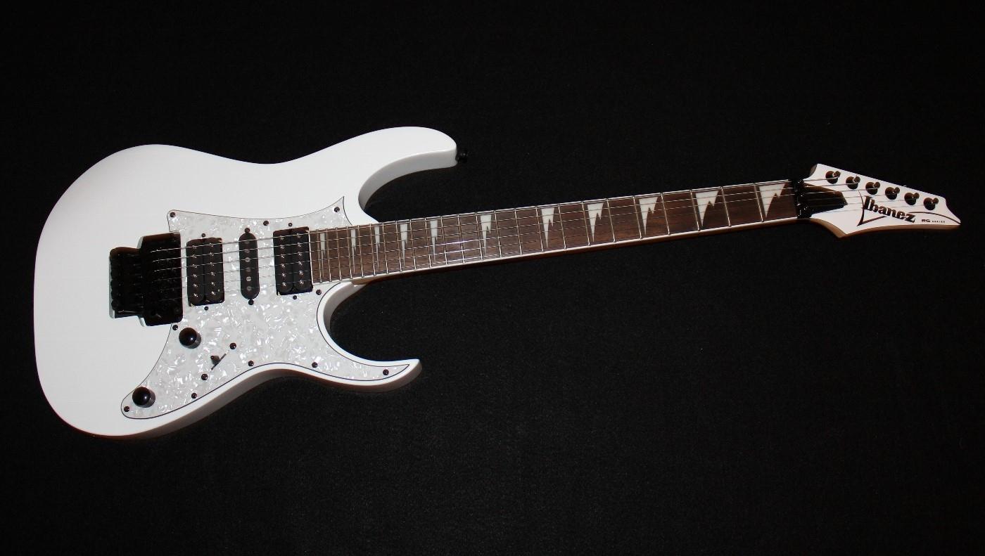 Ibanez Rg450dx White Electric Guitar