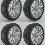 2018 Gmc Sierra Yukon Denali Snowflake Ck156 Chrome Sierra 22 Wheels Rims Tires Ebay