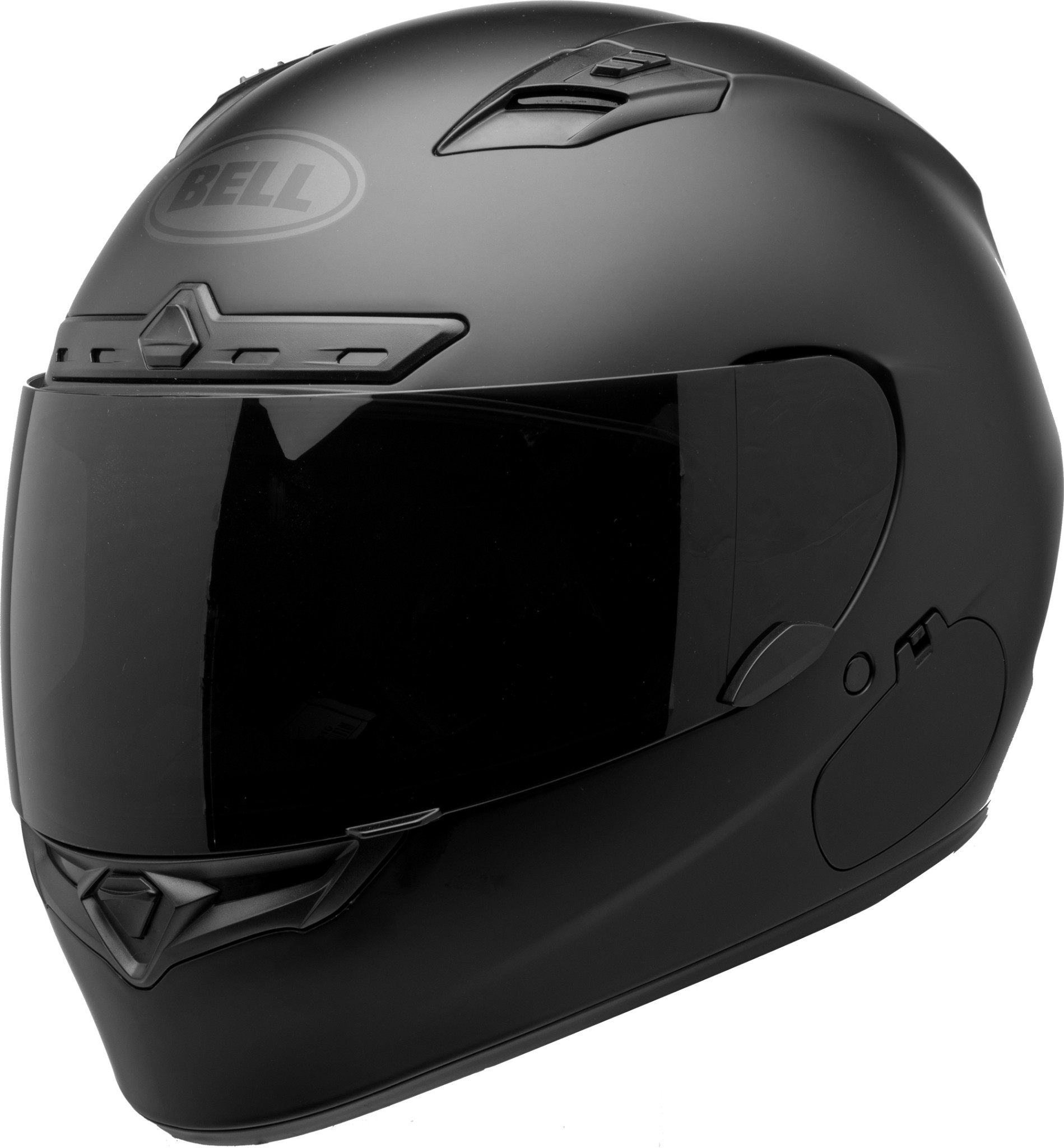 Bell Qualifier Dlx Non Mips Helmet Matte Blackout W Dark