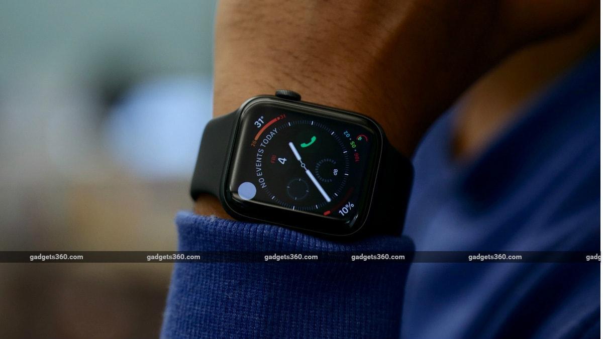 Apple Watch Series 5 dimmed display Apple Watch Series 5