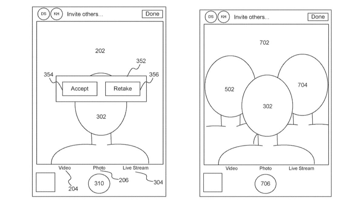 Apple's New Patent May Allow for Virtual Group Selfies