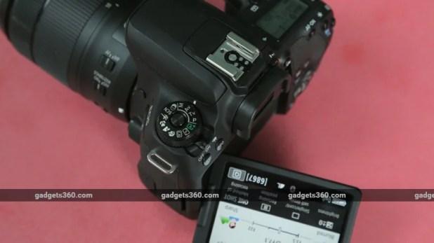 Canon 77D dial ndtv canon 77d